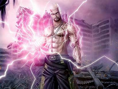 Sorcerer Lightning Mage Wizard Fantasy Magic Magician