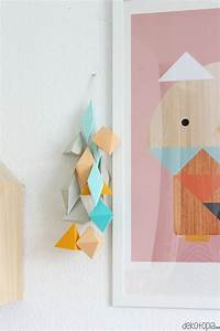 Eye catchy diy paper wall d?cor ideas shelterness