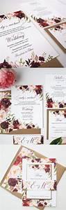 25 best ideas about burgundy wedding on pinterest With september wedding invitations ideas