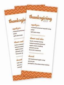 Download Customizable Thanksgiving Menus