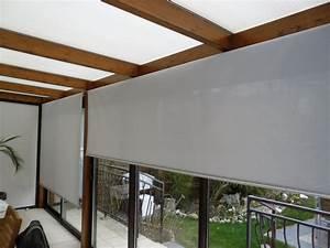Store De Veranda Interieur : stores enrouleurs de veranda apl textiles ~ Voncanada.com Idées de Décoration