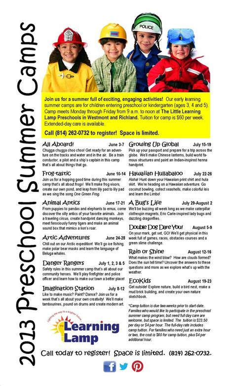 lots of summer for your ones at the learning 861 | befd78e83434662f186f7e36d741d957 summer camp themes summer camps