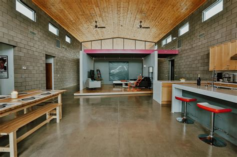 modern industrial floor l remodeled loft becomes modern home the ranch mine hgtv