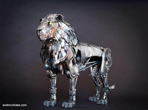 Mechanical Animals Wallpaper - the fabulous metallic sculpture of andrew