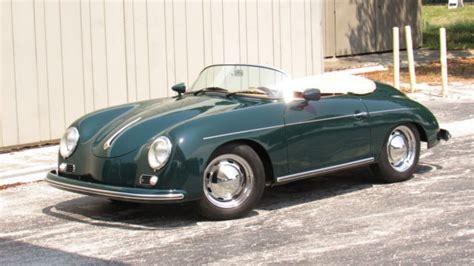 A single word bundles everything the brands stands for: Porsche 356 Convertible 1957 Green For Sale. 118747665 1956 1957 PORSCHE SPEEDSTER 356 REPLICA ...