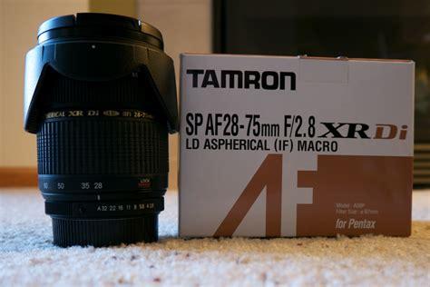 tamron af 28 75mm f 2 8 sp xr zl di ld aspherical if lens conus pentaxforums