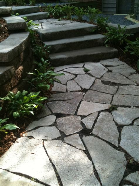 stone walkways crosstown concrete brick paving