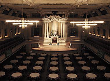boston pops seating tables worcester mechanics hall massachusetts usa e g g hook