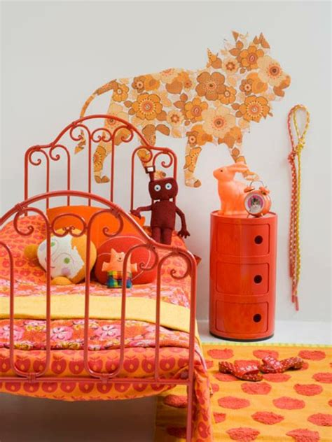 deco chambre orange deco chambre fille orange