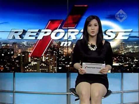 Salah satu presenter cantik yang kelihatan cd nya :d. Inda Endaliani - Beauty of Reportase Malam - YouTube