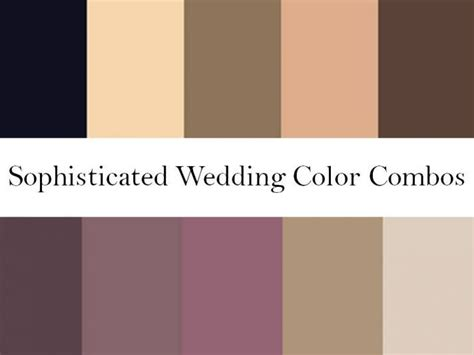 find your wedding color palette and wedding patterns