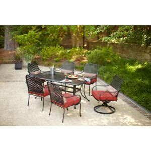 hton bay fall river 7 patio dining set with