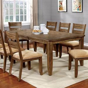 Furniture, Of, America, Merina, Country, Style, Expandable, 78-inch, Dining, Table