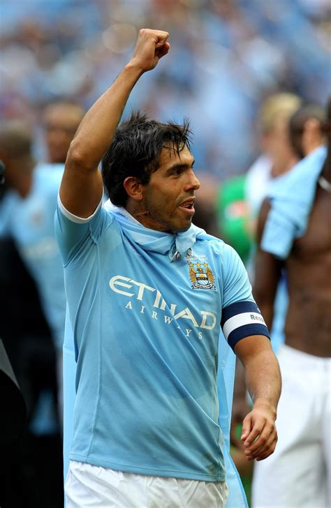 View the player profile of boca juniors forward carlos tevez, including statistics and photos, on the official website of the premier league. Carlos Tevez - Carlos Tevez Photos - Manchester City v Stoke City - FA Cup Final - Zimbio