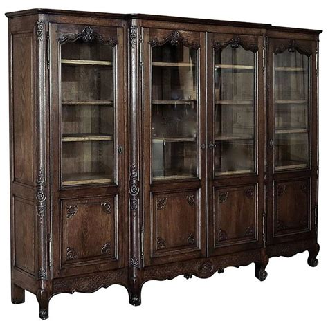 19th Century Country French Bookcase Or Bibliotheque At