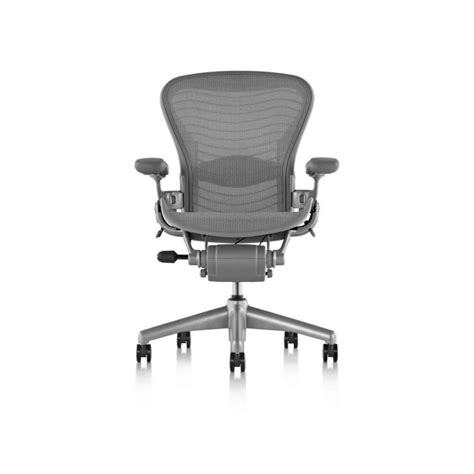Aeron Chair By Herman Miller by Herman Miller Aeron Chair Titanium