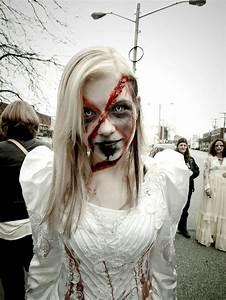 Déguisement Zombie Fait Maison : 1001 id es maquillage zombie une vraie t te de mort vivant ~ Melissatoandfro.com Idées de Décoration