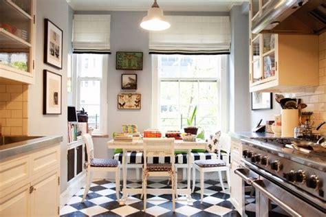 cuisine en noir et blanc carrelage cuisine en noir et blanc 22 intérieurs inspirants