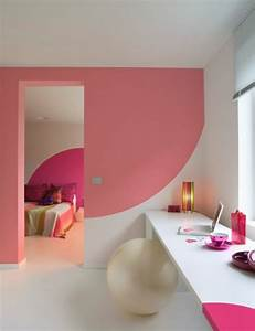 Bathroom, Pink, Wall, Colours, Decoration, Ideas