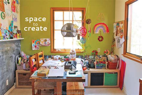 A Home Art Studio For Kids-babble Dabble Do