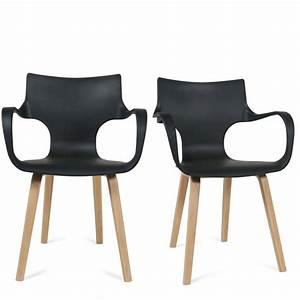 Chaise Noire Salle A Manger : chaise salle a manger noire design 11 id es de ~ Teatrodelosmanantiales.com Idées de Décoration