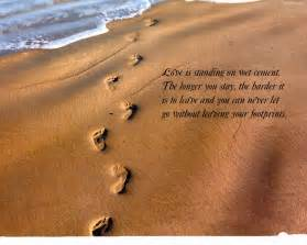 Footprints in the Sand Bible Verse