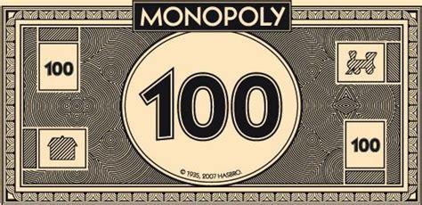 monopoly money actual size image