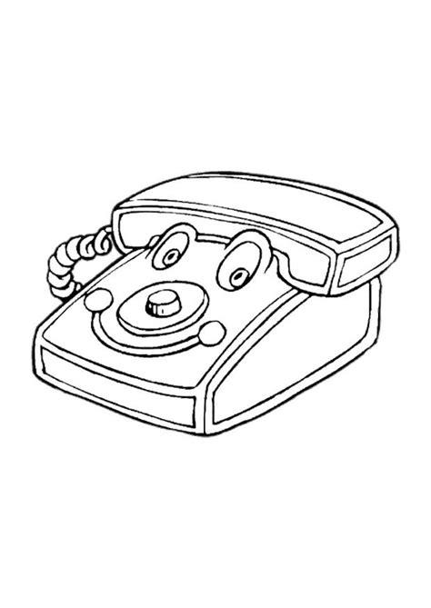 telefono da colorare disegno da colorare telefono giocattolo cat 10618