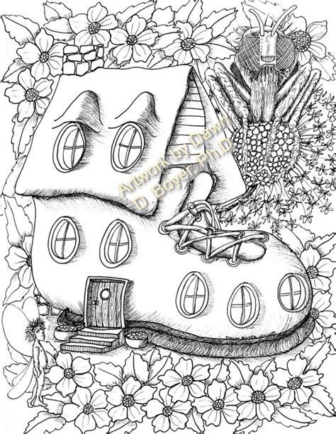 fairy houses  fairy doors vol    individual coloring