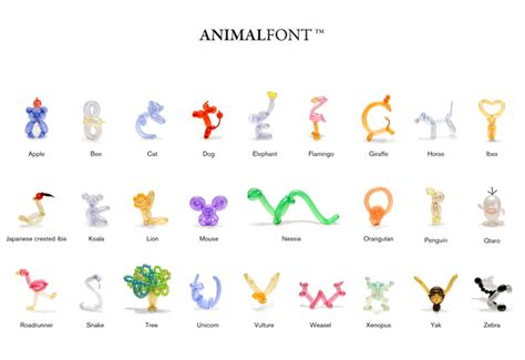 how to make balloon animals animal balloon typography spoon tamago