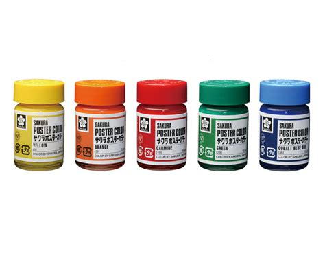 colors and bottles poster colors in glass bottle color products corp