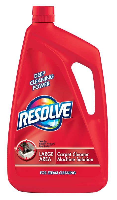 Rug Cleaner Solution by Resolve Carpet Steam Cleaner Solution 48 Fl