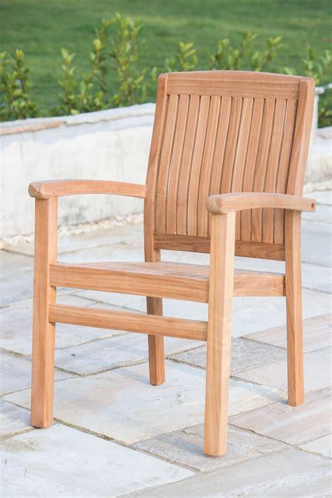 teak garden armchair kent sustainable furniture