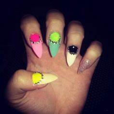 Stiletto nails on Pinterest
