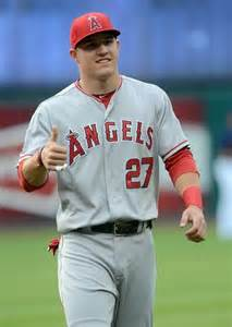 Mike Trout Baseball Player