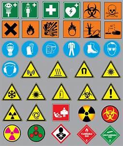 Chemistry Simbols Stock Vector  Illustration Of Corrosive