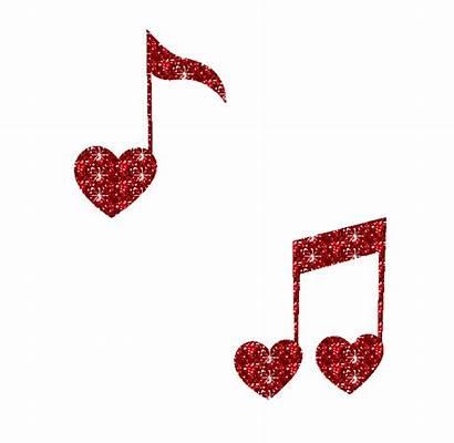 Notes Heart Glitter Graphics Tu Elx Eoi