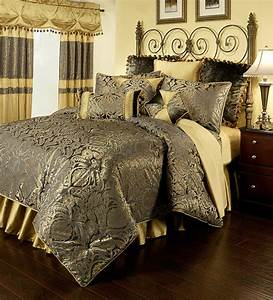 Fountain, Blue, By, Austin, Horn, Luxury, Bedding