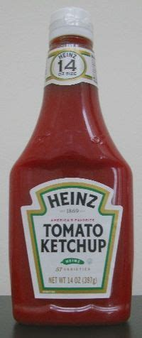 Heinz Tomato Ketchup - Wikipedia, the free encyclopedia ...