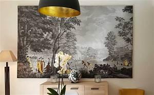 Decolle Papier Peint : paysages romains manufacture dufour 19eme si cle papiers de paris ~ Dallasstarsshop.com Idées de Décoration
