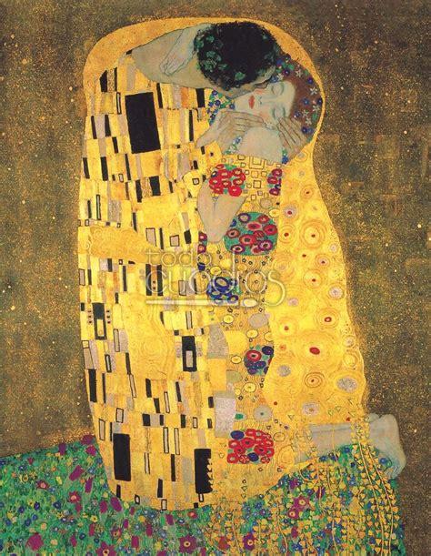 La Klimt - el beso de klimt reproducci 243 n de la obra cuadro famoso