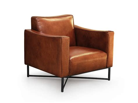 Onda Leather Armchair Oliver B. Wild Collection By Oliver B