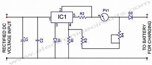 L200 12v Constant Voltage Battery Charger Circuit