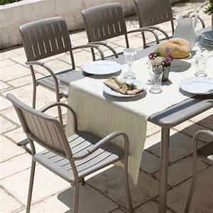 Fauteuil Jardin Aluminium : fauteuil de jardin en polypropyl ne et aluminium musa 4 ~ Teatrodelosmanantiales.com Idées de Décoration