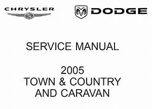 Chrysler Rs Town  U0026 Country  Caravan And Voyager 2005