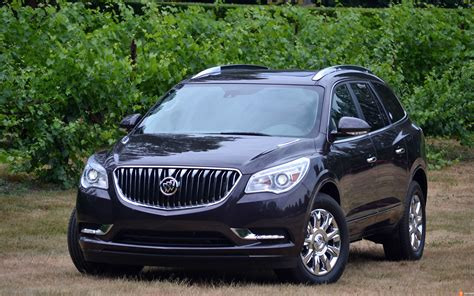 The 2015 Buick Enclave Is A Refined Way For Your Family To