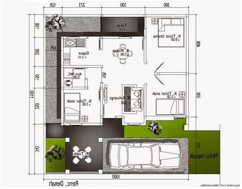 desain rumah minimalis ukuran   lantai desain