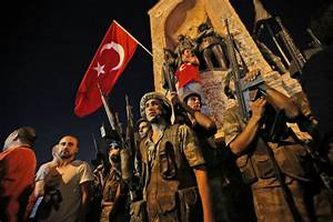 Photos: Turkey's armed forces attempt military coup ...