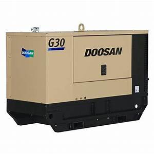 Doosan G30 Generator Parts List