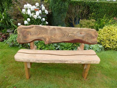 rustic garden benches pollera org